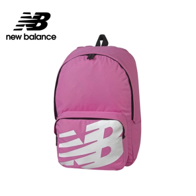 【New Balance】大LOGO後背包_中性_粉紅_BG01009GCYK