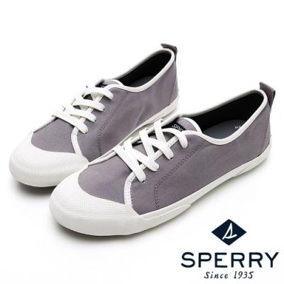 SPERRY 繽紛魅力復古綁帶休閒鞋(女)-鐵灰