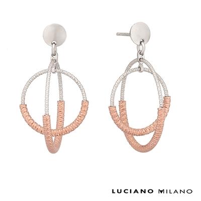 LUCIANO MILANO 禪系列純銀耳環(一心)