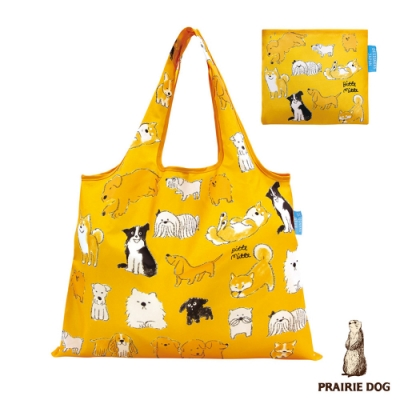 日本 Prairie Dog 設計包/環保袋/購物袋/手提袋 - 狗寶貝