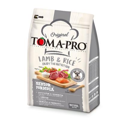(時時樂限定)TOMA PRO 優格 高纖低脂 羊肉+米 高齡犬 飼料  7公斤