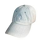 CK Calvin Klein經典刺繡字母LOGO棒球帽(淡藍)