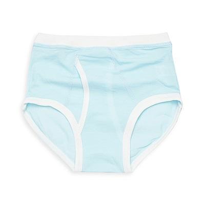 anny pepe 兒童內褲 95%天絲男童三角褲-水藍