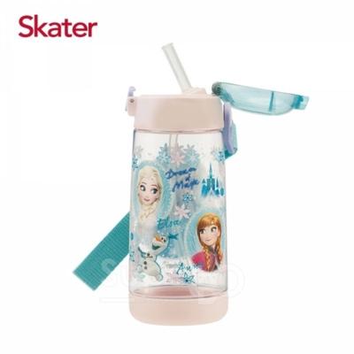 skater-彈跳吸管卡通透明水壺 480ml