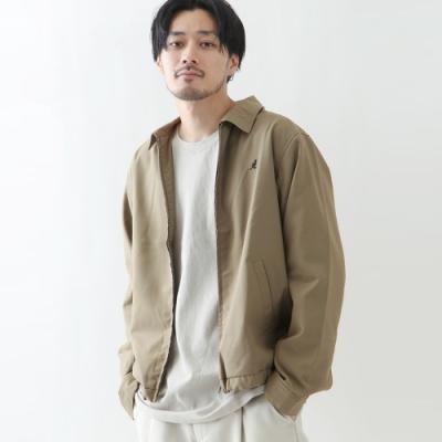 KANGOL寬版夾克輕薄外套(5色) ZIP日本男裝