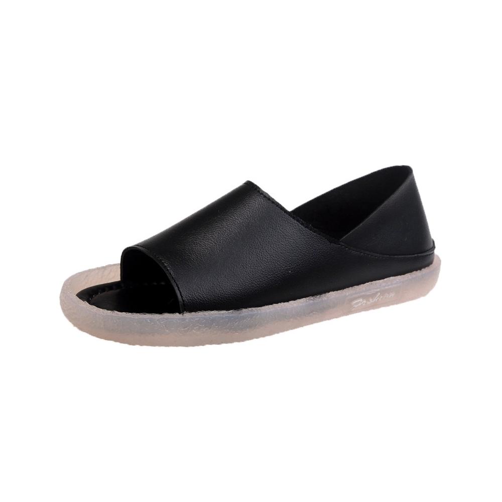 KEITH-WILL時尚鞋館 獨家價簡約運動涼鞋-黑
