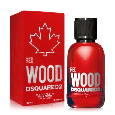 DSQUARED2 RED WOOD 心動紅女性淡香水30ml