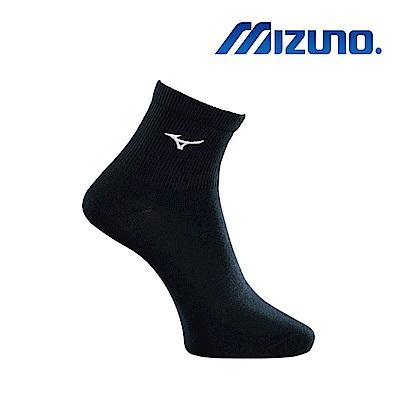 Mizuno 美津濃 男運動薄底中統襪 7入 黑x白 32TX8A5491