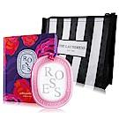 DIPTYQUE 限量情人節玫瑰室內香氛蠟35g-贈品牌化妝包