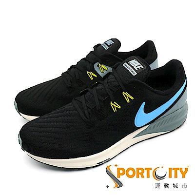 NIKE AIR ZOOM STRUCTURE 22男跑步鞋 黑