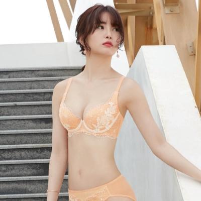 曼黛瑪璉 Hibra大波內衣 D-G罩杯(寧靜橘)