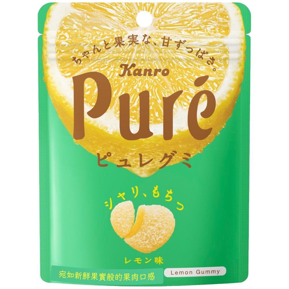 甘樂 Kanro Pure鮮果實軟糖-檸檬(56g)
