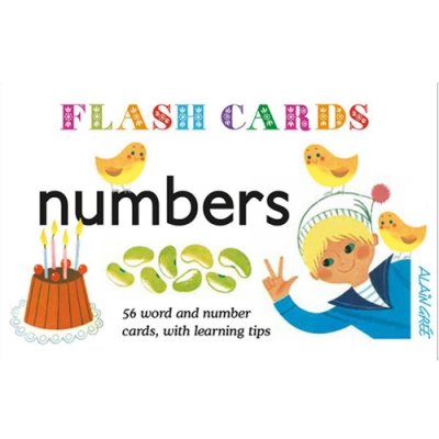 Number Flash Cards 算數學習圖卡