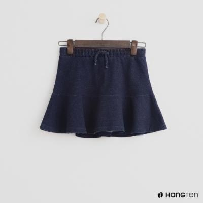 Hang Ten -童裝 - 鬆緊單寧短裙 - 深藍