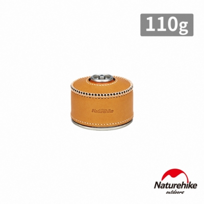 Naturehike 經典復古風植鞣革高山瓦斯罐皮套 保護套 復古黃 110g-急