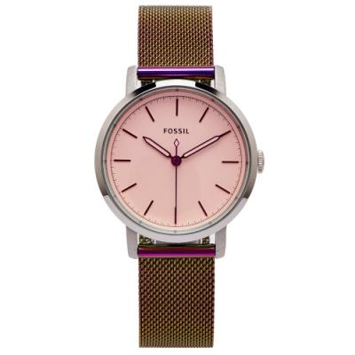 FOSSIL 簡約優雅風炫彩的手錶(ES4466)-淡紫色面/34mm