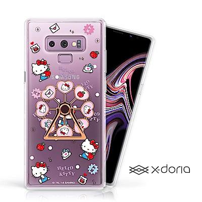Hello Kitty Samsung Note 9 摩天輪旋轉指環背蓋 - 蘋果樂園