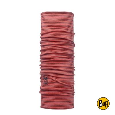 【西班牙BUFF】 橘色珊瑚 美麗諾羊毛頭巾