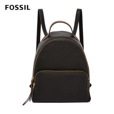 FOSSIL Felicity 真皮後背包-黑色 SHB2101001