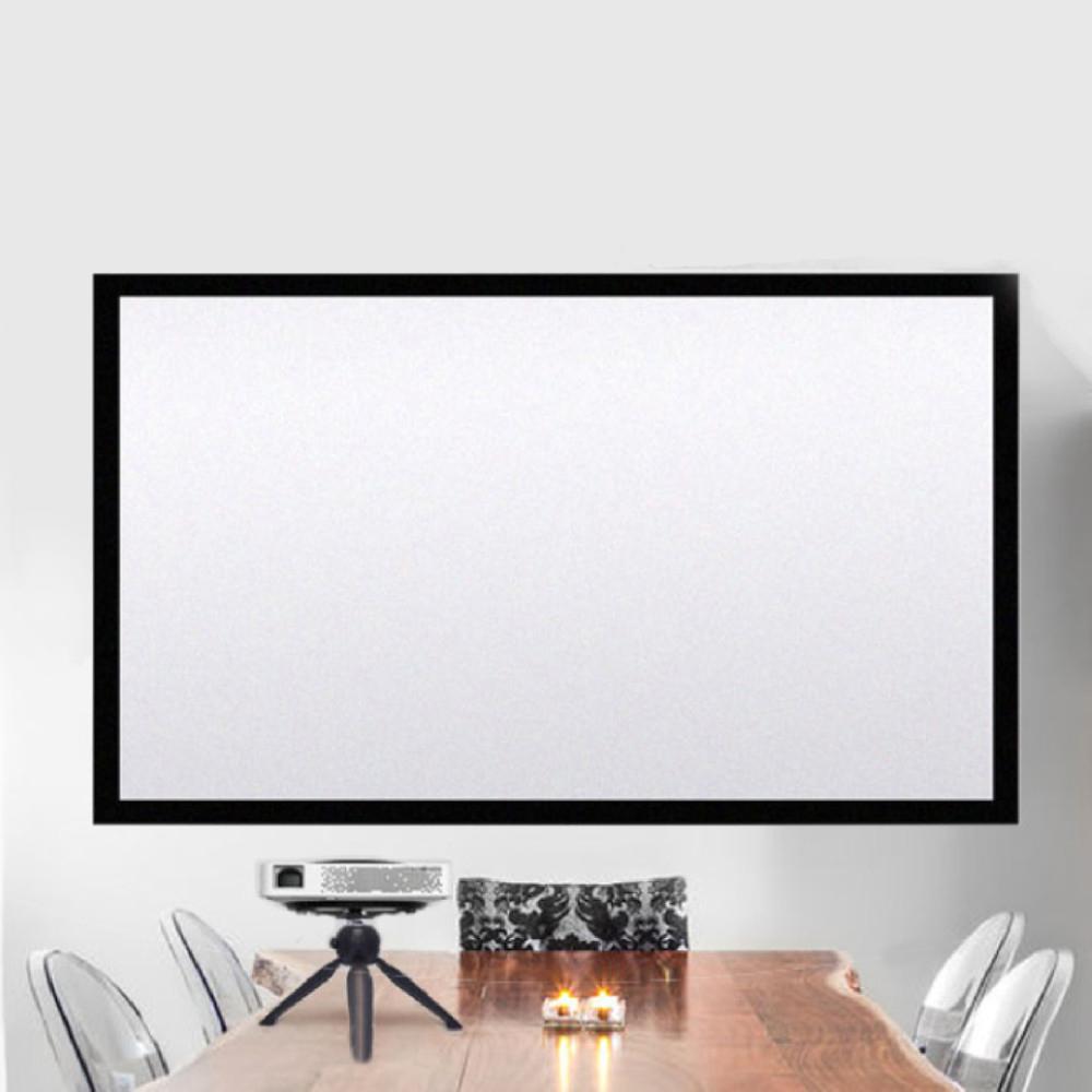 72吋簡易型多用途16:9投影布幕