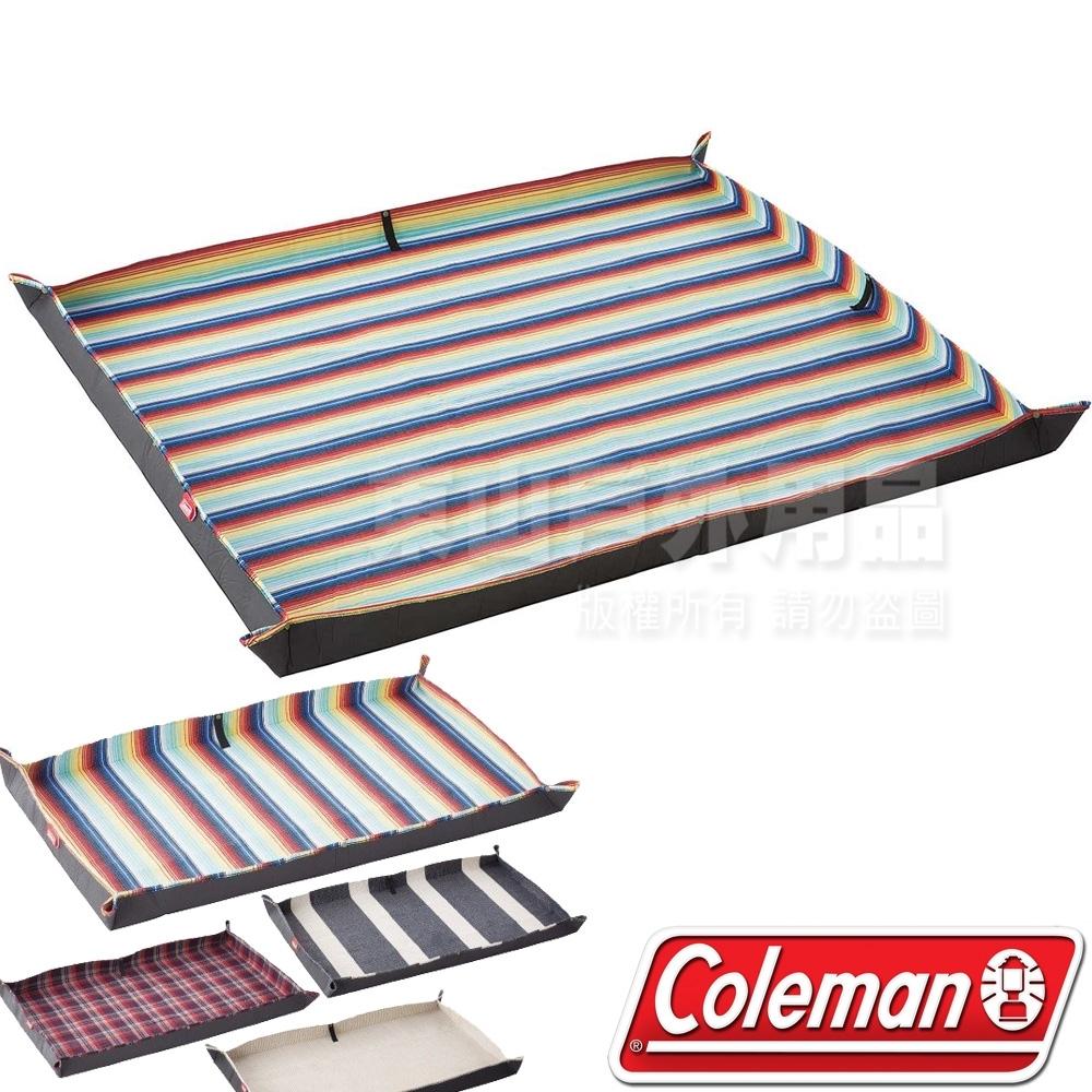 Coleman CM-36156 豪華休閒野餐墊-夕陽紋 210x170cm/露營墊/野餐墊/海灘墊/防水野營墊/遊戲軟墊