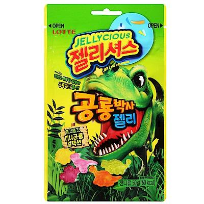 Lotte樂天 恐龍造型軟糖(50g)