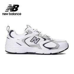 [New Balance]復古運動鞋_中性_白/灰色_ML408A-D楦