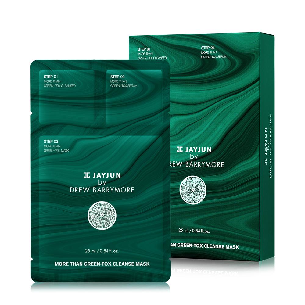 JAYJUN 淨白綠摩深層保濕水光面膜 10入/盒