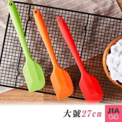JIAGO 耐高溫烘焙矽膠奶油刮刀(大號)