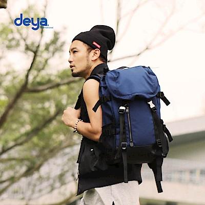 deya 布里斯托雙肩小後背包-深藍
