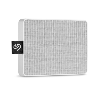 Seagate One Touch 500GB 外接式固態硬碟-晨霧白STJE500402(聯強貨)