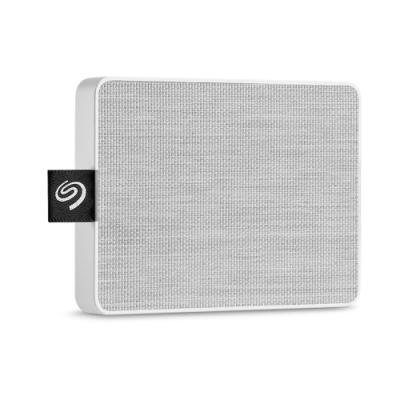 Seagate One Touch 1TB 外接式固態硬碟-晨霧白STJE1000402(聯強貨)