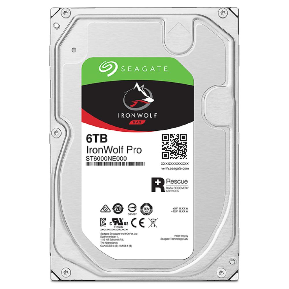 SEAGATE 那嘶狼 Pro 3.5吋 6TB NAS專用硬碟