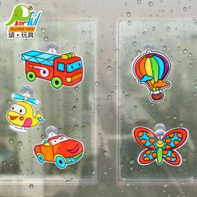 Playful Toys 頑玩具 窗貼彩膠畫