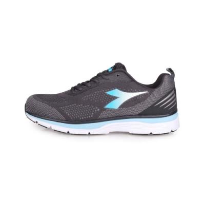 DIADORA 女輕量慢跑鞋-路跑 灰藍白