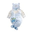 台灣製三層棉帽衣腳三件套兔衣組 b0238 魔法Baby