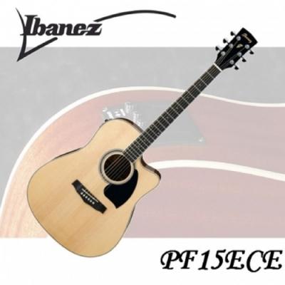 Ibanez PF15ECE 電木吉他/專業規格/絕佳音質/公司貨保固/原木色