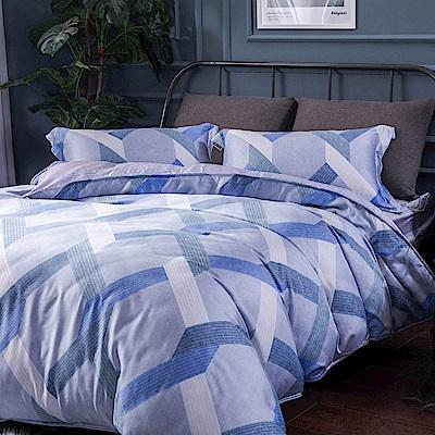 夢工場 情意纏綿40支紗天絲兩用被床包組-加大
