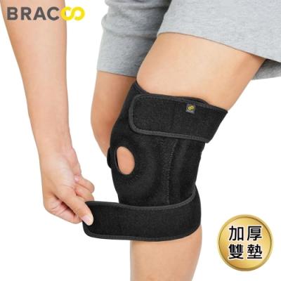 美國BRACOO 奔酷雙支撐可調式強固護膝KB30