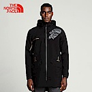 TheNorthFace北面男款黑色透氣防水防風衝鋒衣 | 3GJ5JK3