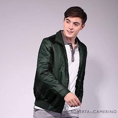 ROBERTA諾貝達 禦寒極品 時尚厚舖棉夾克外套 綠色