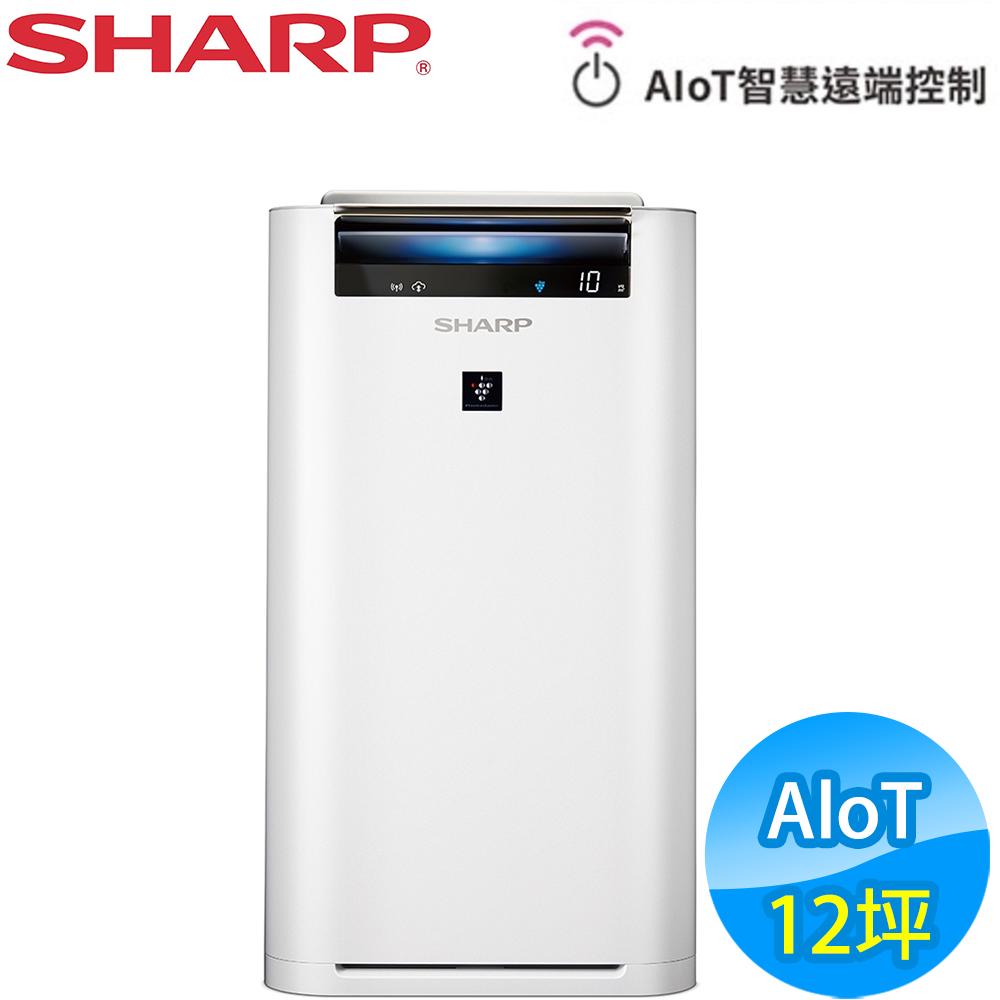 SHARP夏普 12坪 AIoT智慧空氣清淨機 KC-JH51T-W