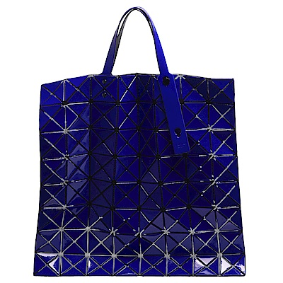 ISSEY MIYAKE 三宅一生BAOBAO幾何方格10X10手提包(寶藍色)