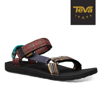 【TEVA】原廠貨 男 Original Universal Upcycle 鴛鴦經典織帶涼鞋/雨鞋/水鞋(眾彩色-TV1106839MULT)