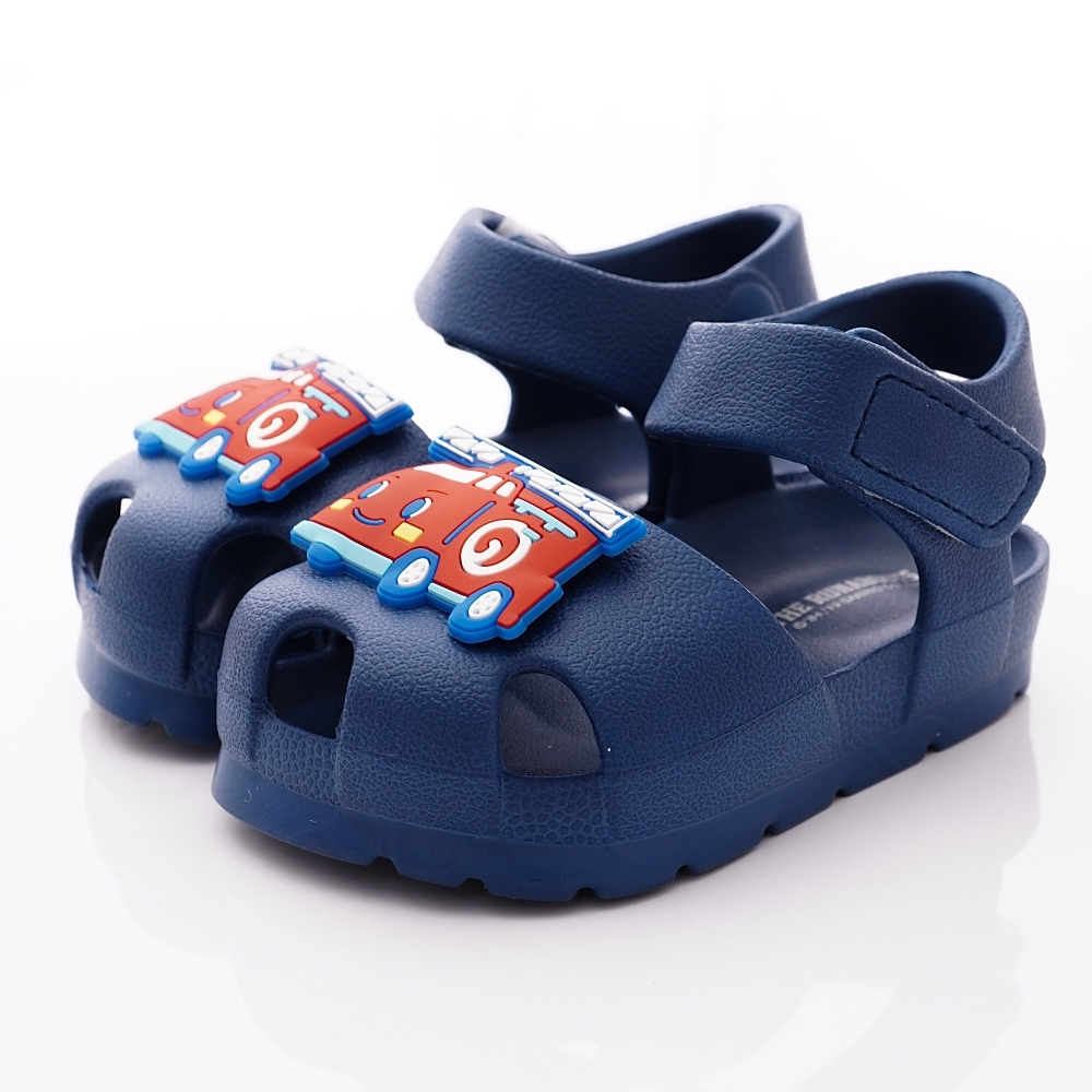 HelloKitty童鞋 輕量護趾涼鞋款 EI19288藍(小童段)
