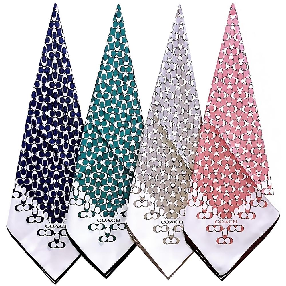 COACH 時尚品味 絲巾/大方巾