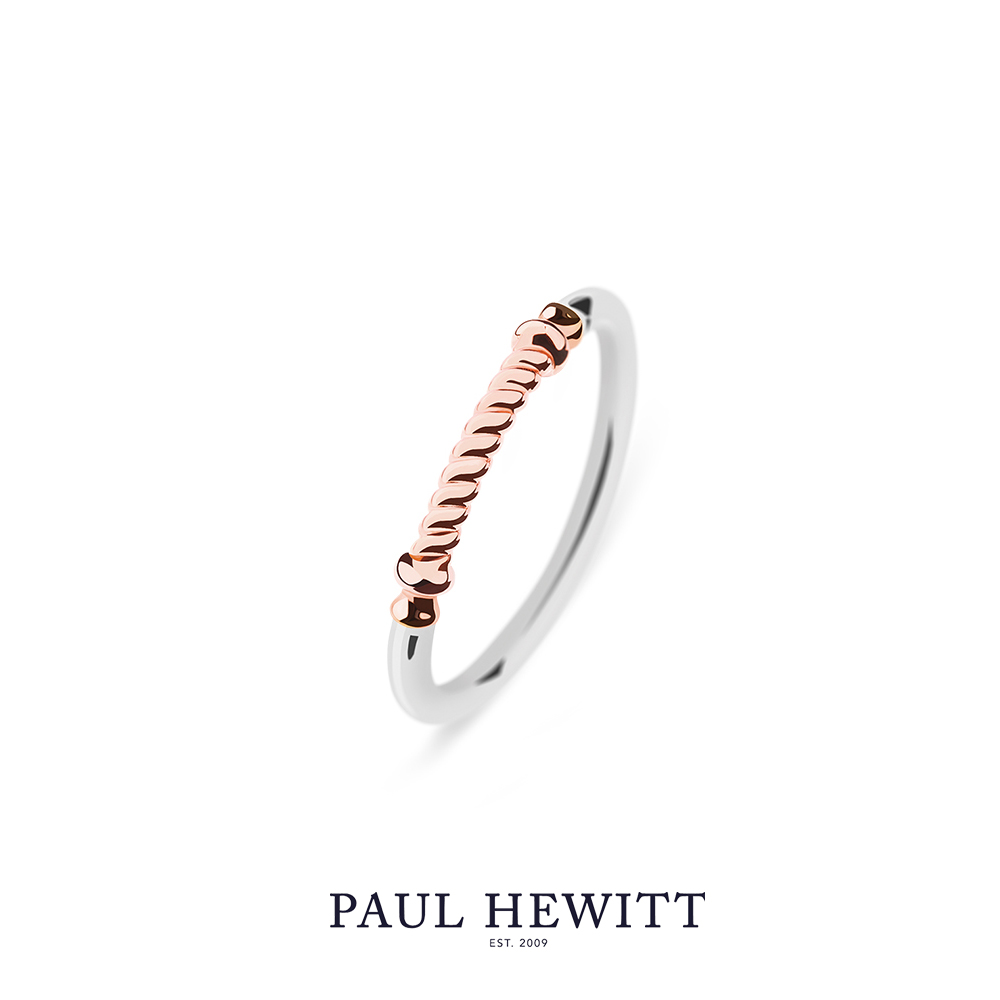 PAUL HEWITT Ring Rope 左舷繩索戒指 (玫瑰金)