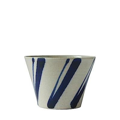 沖繩陶器工房壹 多用杯(松葉)(直徑9.5cm)