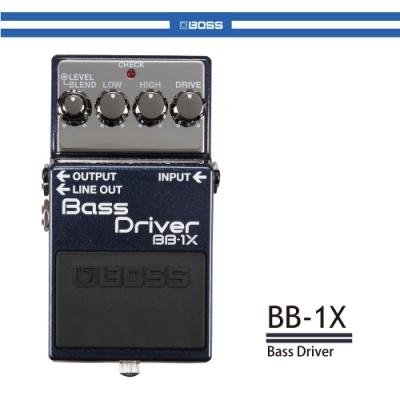BOSS BB-1X 貝斯失真效果器