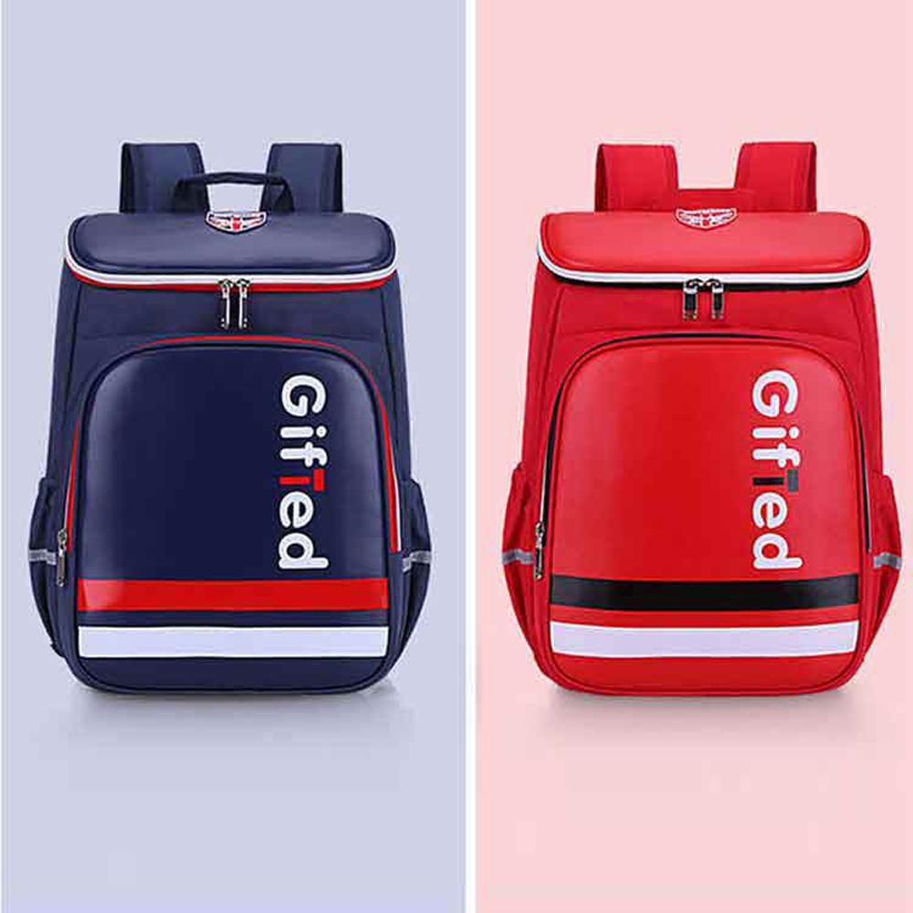 【DF 童趣館】英倫學院風大容量兒童護脊減壓書包後背包-共2色